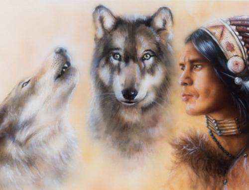 Das Gleichnis von den zwei Wölfen