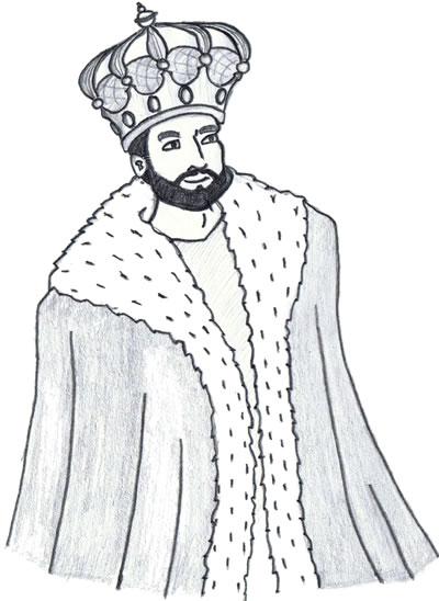 Selbstvertrauen ausstrahlen König